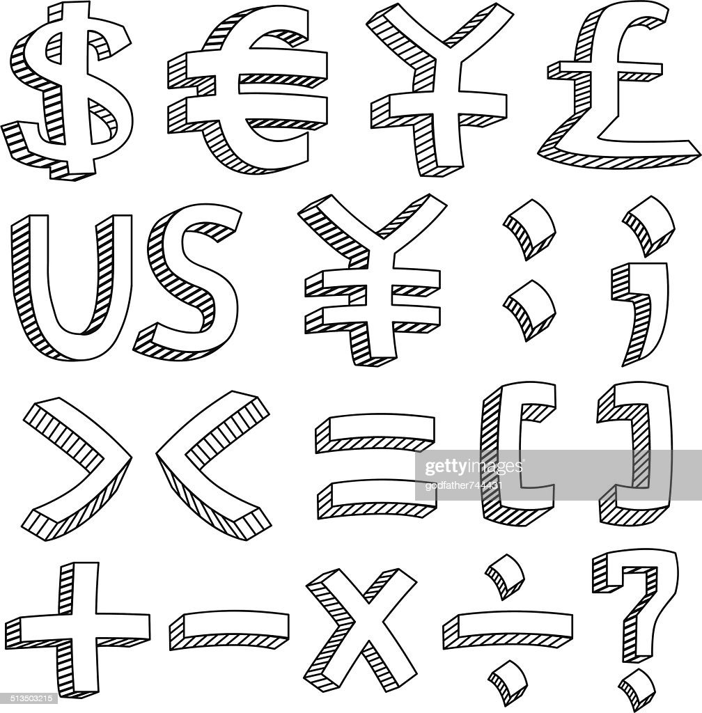 Financial & Accounting Icon Set