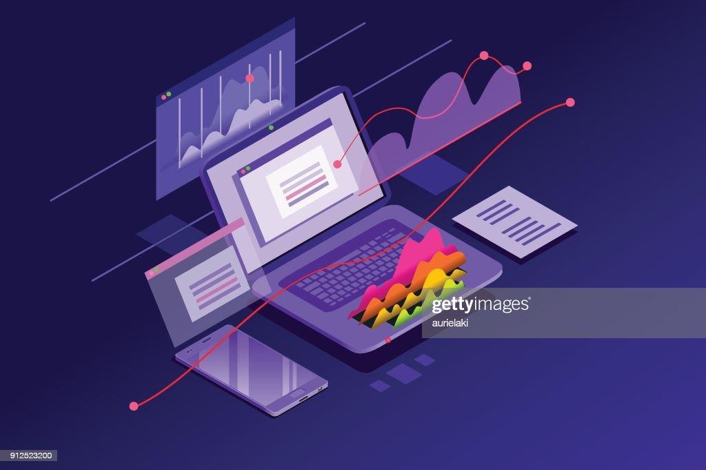 Financial Analysis Minimal Wallpaper