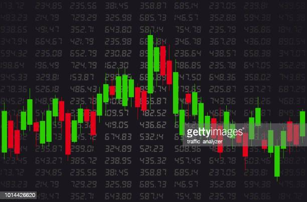 financial background - candle stock illustrations, clip art, cartoons, & icons