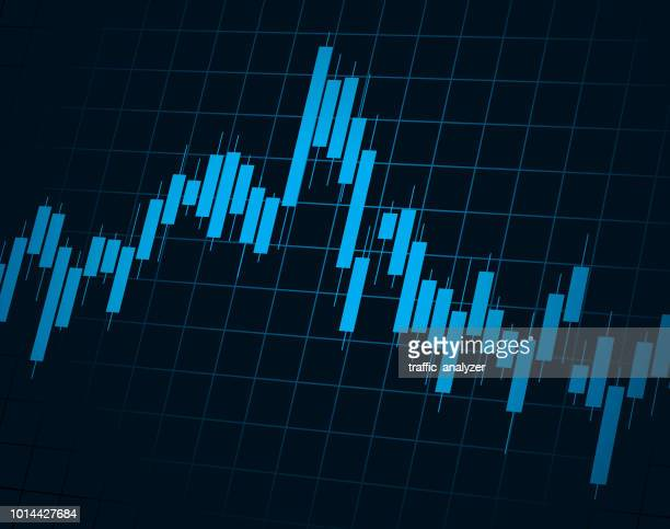 financial background - candlestick holder stock illustrations