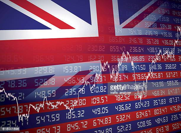 uk financial background - brexit stock-grafiken, -clipart, -cartoons und -symbole