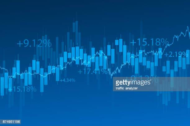 financial background - number stock illustrations