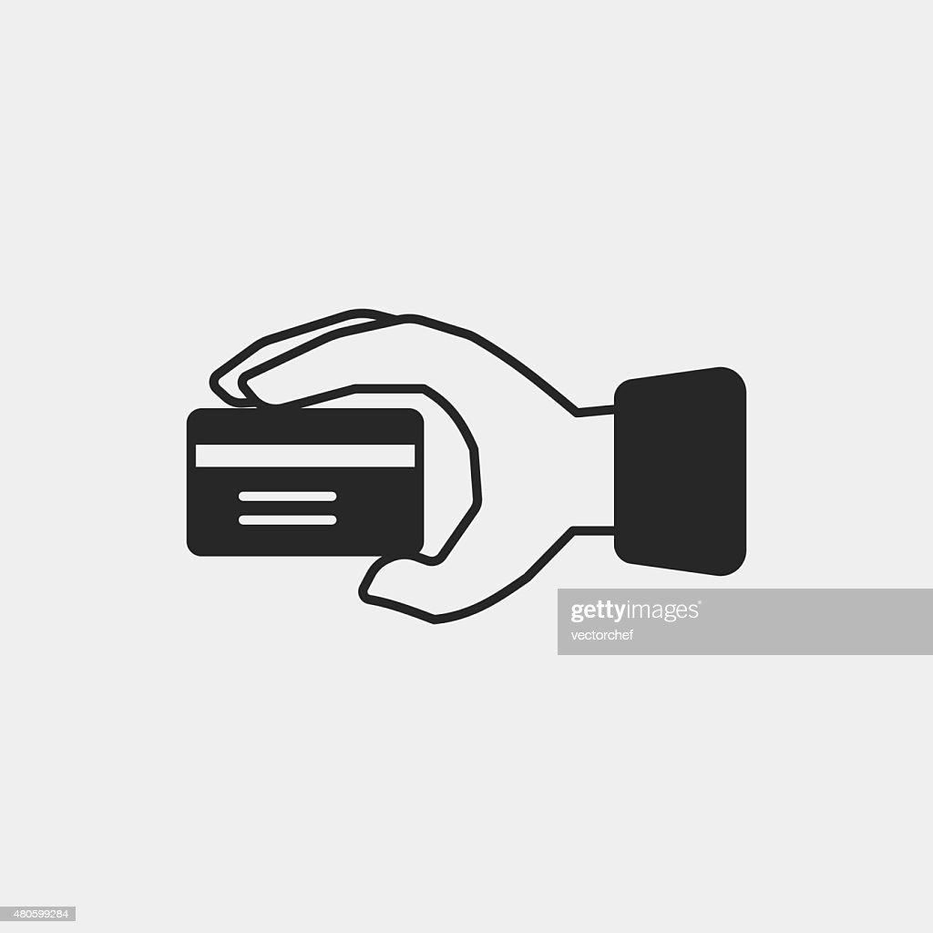 financial credit card icon : Vector Art