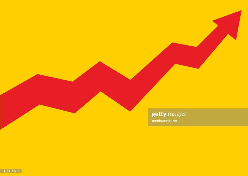 Financial data graph chart : stock illustration