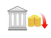 Financial decrease