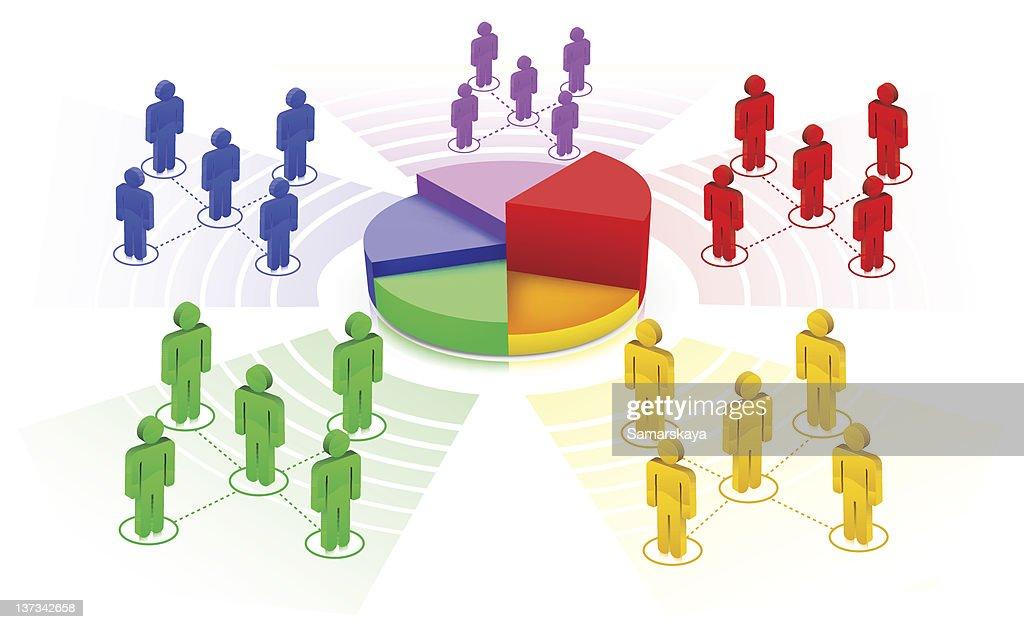 Financial Figures : stock illustration