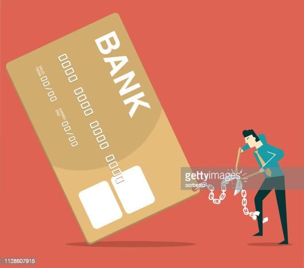 ilustraciones, imágenes clip art, dibujos animados e iconos de stock de libertad financiera - empresario - impuesto sobre la renta