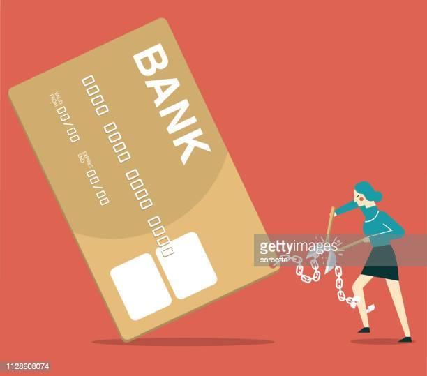 ilustraciones, imágenes clip art, dibujos animados e iconos de stock de libertad financiera - empresaria - impuestosobrelarenta