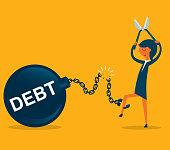 Financial freedom - Businesswoman