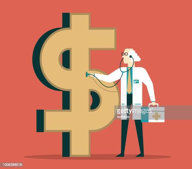 ilustrações de stock, clip art, desenhos animados e ícones de financial health - finanças e economia