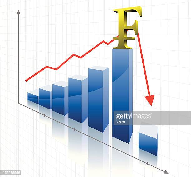 financial swiss franc crisis - franc sign stock illustrations, clip art, cartoons, & icons