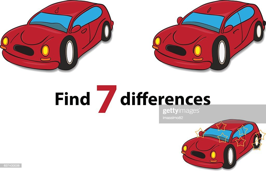Find 7 differences - Game