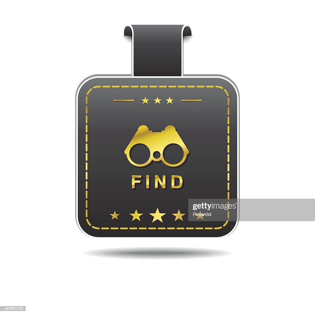 Find  golden Vector Icon Design