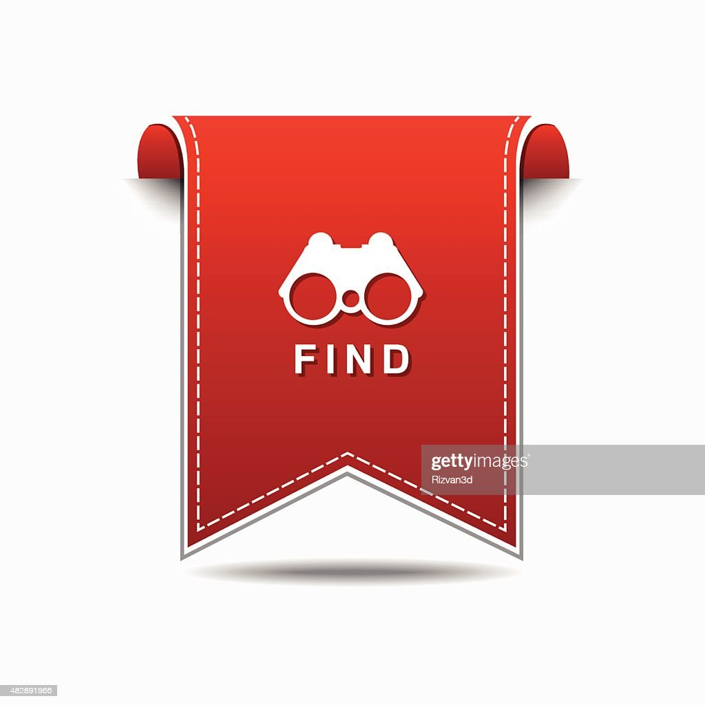 Find  Red Vector Icon Design