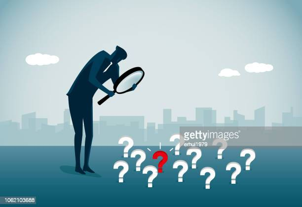finding - confusion stock illustrations, clip art, cartoons, & icons