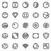 Fine gems icons
