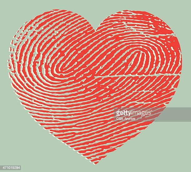 Fingerprint Heart