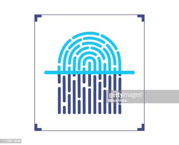 Fingerprint scanner Scanning Fingerprint