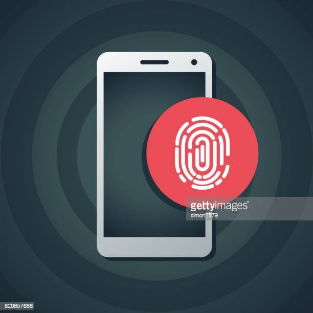Fingerprint scanning on smart phone