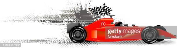 finishing banner - mathematical formula stock illustrations