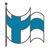 Finland flag. Vector illustration.