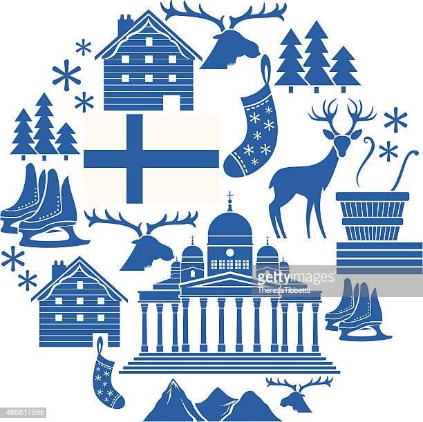 Finland Icon Set