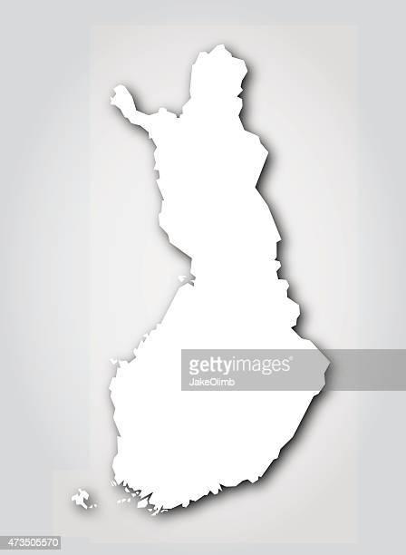 Finland Silhouette White