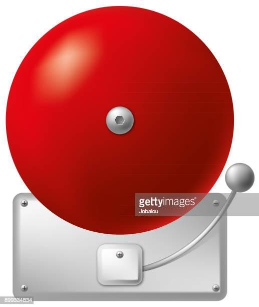 火災警報器 - 警報機点のイラスト素材/クリップアート素材/マンガ素材/アイコン素材