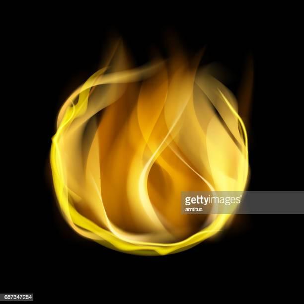 ilustraciones, imágenes clip art, dibujos animados e iconos de stock de bola de fuego - llamas de fuego