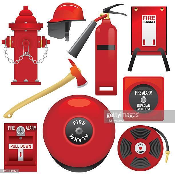 火災警報装置 - 警報機点のイラスト素材/クリップアート素材/マンガ素材/アイコン素材