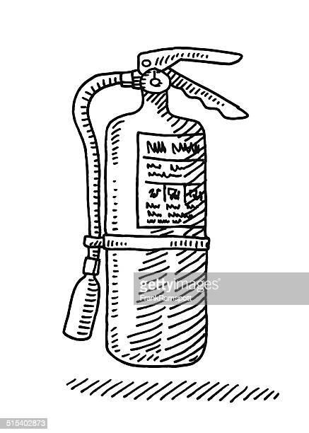 Extintor de dibujo