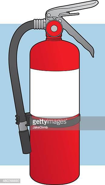 Extintor de trazado