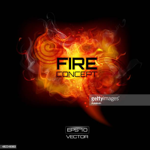 fire frame - flare stack stock illustrations, clip art, cartoons, & icons
