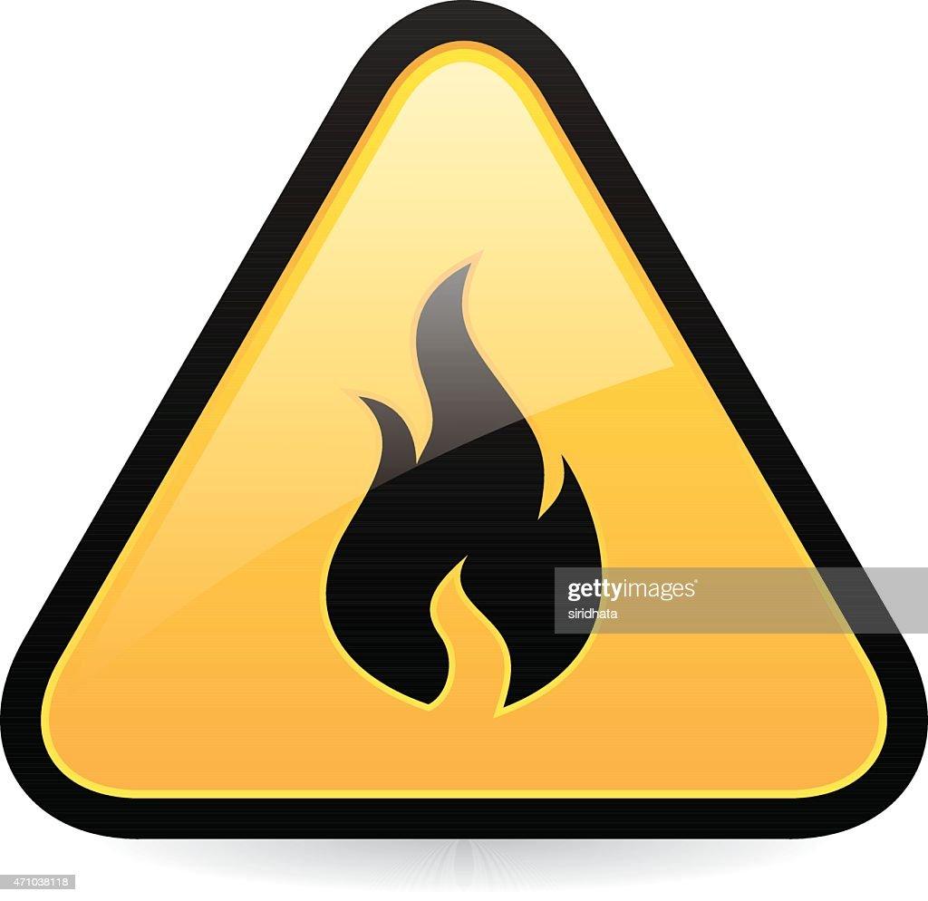 Fire Hazard Icon