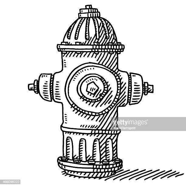Fire Hydrant Drawing