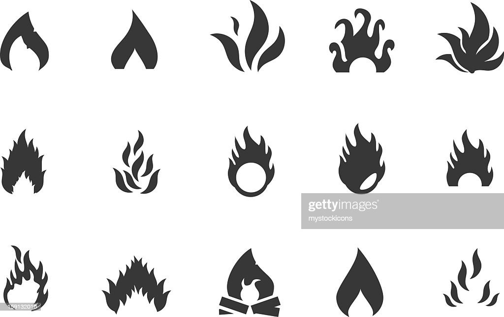 Fire Icons and Symbols : Vectorkunst