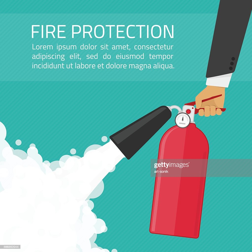 Fire protection illustration