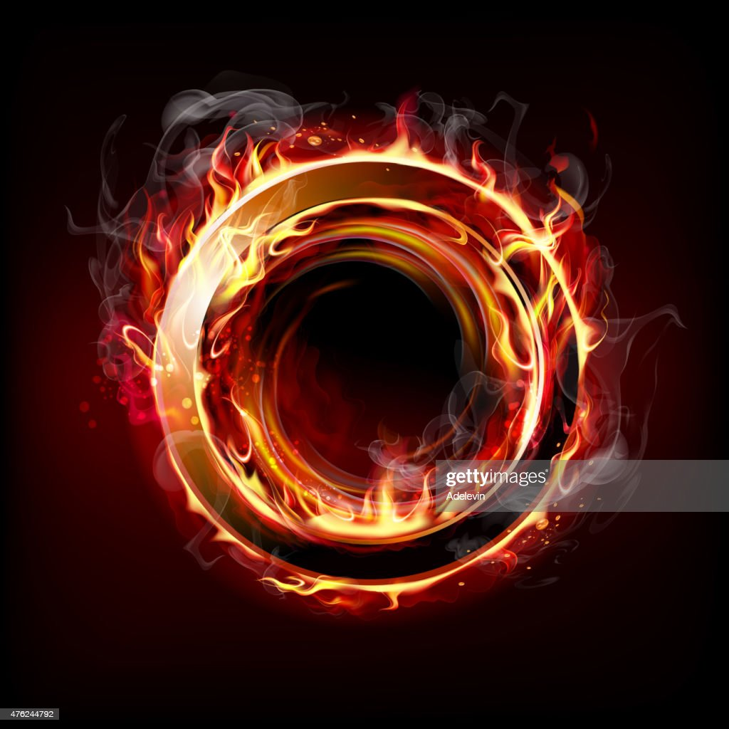 Fire Ring : Vector Art
