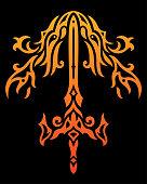Fire Sword Pattern