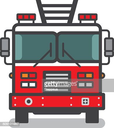fire truck vector art | getty images
