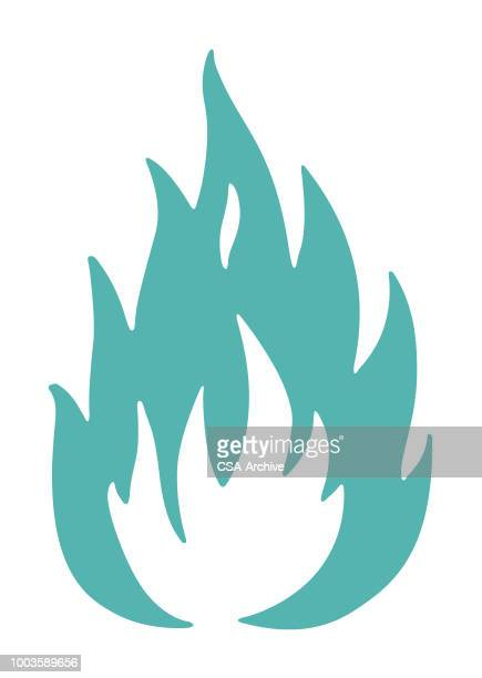 fire - flamme stock-grafiken, -clipart, -cartoons und -symbole