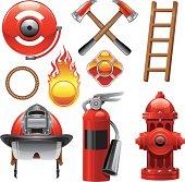 firefighter Design Elements