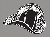 Firefighter's Helmet or Fire Hat