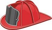 Firefighter's Helmet or Fireman's Hat