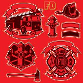 FireFigthers vector set