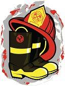 Fireman Hat & Boots