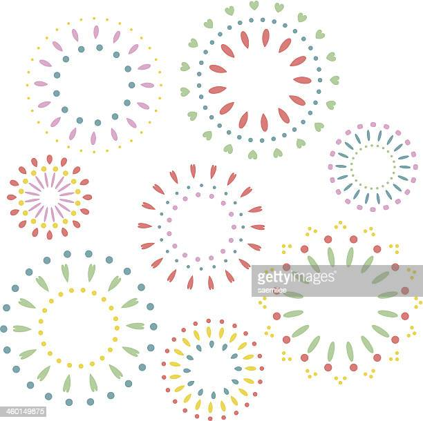 firework pattern - sparks stock illustrations, clip art, cartoons, & icons
