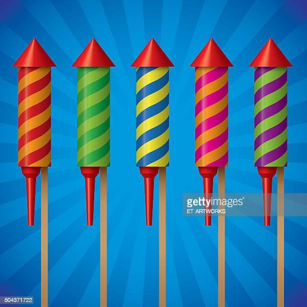 fireworks - arugula stock illustrations, clip art, cartoons, & icons