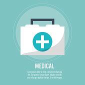 first aid box medical health care