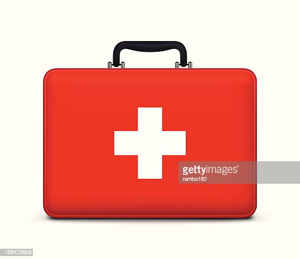 first aid case icon - first aid stock illustrations
